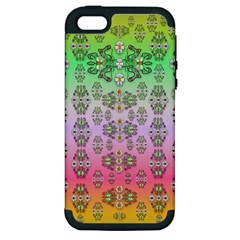 Summer Bloom In Festive Mood Apple Iphone 5 Hardshell Case (pc+silicone) by pepitasart