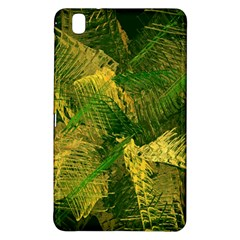 Green And Gold Abstract Samsung Galaxy Tab Pro 8 4 Hardshell Case by linceazul