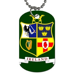 Flag Of Ireland National Field Hockey Team Dog Tag (two Sides) by abbeyz71