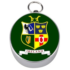 Flag Of Ireland National Field Hockey Team Silver Compasses by abbeyz71
