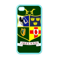 Flag Of Ireland National Field Hockey Team Apple Iphone 4 Case (color) by abbeyz71