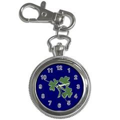 Flag Of Ireland Cricket Team  Key Chain Watches by abbeyz71