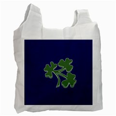 Flag Of Ireland Cricket Team  Recycle Bag (two Side)  by abbeyz71