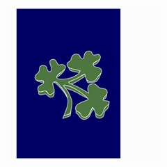Flag Of Ireland Cricket Team  Small Garden Flag (two Sides) by abbeyz71