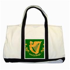 Erin Go Bragh Banner Two Tone Tote Bag by abbeyz71