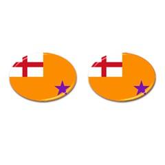 Flag Of The Orange Order Cufflinks (oval) by abbeyz71