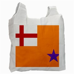 Flag Of The Orange Order Recycle Bag (one Side) by abbeyz71