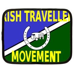 Flag Of The Irish Traveller Movement Netbook Case (xl)  by abbeyz71