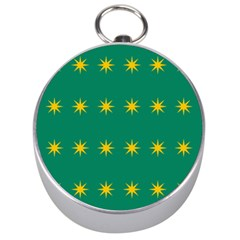 32 Stars Fenian Flag Silver Compasses by abbeyz71