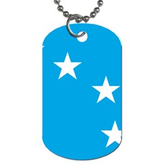 Starry Plough Flag Dog Tag (two Sides) by abbeyz71