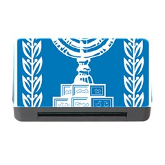 Emblem Of Israel Memory Card Reader With Cf by abbeyz71