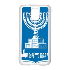 Emblem Of Israel Samsung Galaxy S5 Case (white) by abbeyz71