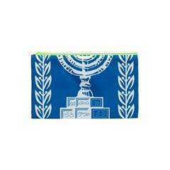 Emblem Of Israel Cosmetic Bag (xs) by abbeyz71