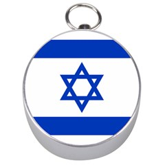 Flag Of Israel Silver Compasses by abbeyz71