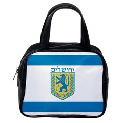 Flag Of Jerusalem Classic Handbags (one Side) by abbeyz71
