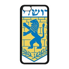 Coat Of Arms Of Jerusalem Apple Iphone 5c Seamless Case (black) by abbeyz71