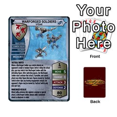 Heroscape Heroes 4 By Hassenfieffer   Playing Cards 54 Designs   M34cig25hepc   Www Artscow Com Front - Diamond5