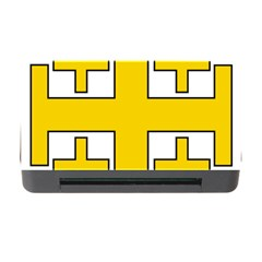 Jerusalem Cross Memory Card Reader With Cf by abbeyz71