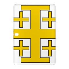 Jerusalem Cross Samsung Galaxy Tab Pro 12 2 Hardshell Case by abbeyz71