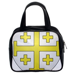 The Arms Of The Kingdom Of Jerusalem  Classic Handbags (2 Sides) by abbeyz71