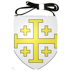 The Arms Of The Kingdom Of Jerusalem  Shoulder Sling Bags by abbeyz71