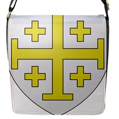 The Arms Of The Kingdom Of Jerusalem  Flap Messenger Bag (s) by abbeyz71