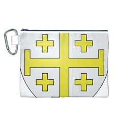 The Arms Of The Kingdom Of Jerusalem  Canvas Cosmetic Bag (l) by abbeyz71