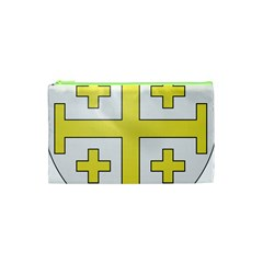 The Arms Of The Kingdom Of Jerusalem  Cosmetic Bag (xs) by abbeyz71