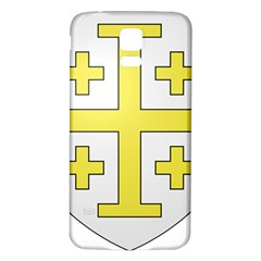 The Arms Of The Kingdom Of Jerusalem Samsung Galaxy S5 Back Case (white) by abbeyz71