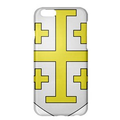The Arms Of The Kingdom Of Jerusalem Apple Iphone 6 Plus/6s Plus Hardshell Case by abbeyz71