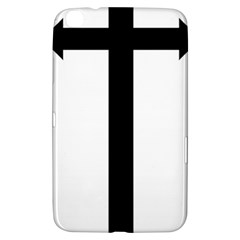 Anchored Cross  Samsung Galaxy Tab 3 (8 ) T3100 Hardshell Case  by abbeyz71