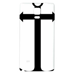Anchored Cross  Galaxy Note 4 Back Case by abbeyz71