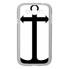 Anchored Cross Samsung Galaxy Grand Duos I9082 Case (white) by abbeyz71