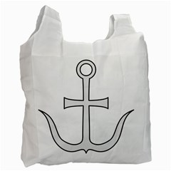 Anchored Cross Recycle Bag (one Side) by abbeyz71