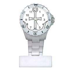 Anchored Cross Plastic Nurses Watch by abbeyz71