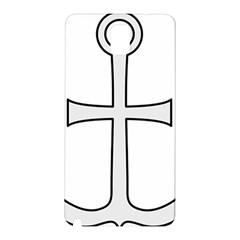 Anchored Cross Samsung Galaxy Note 3 N9005 Hardshell Back Case by abbeyz71