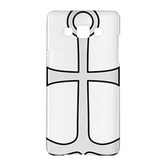 Anchored Cross Samsung Galaxy A5 Hardshell Case  by abbeyz71