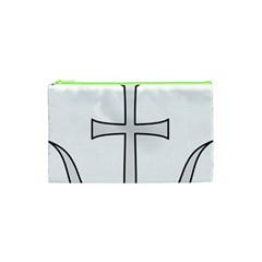 Anchored Cross Cosmetic Bag (xs) by abbeyz71
