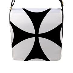 Bolnisi Cross Flap Messenger Bag (l)  by abbeyz71