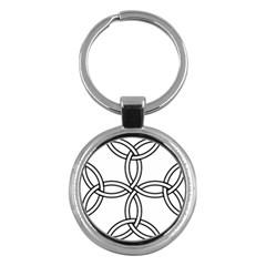 Carolingian Cross Key Chains (round)  by abbeyz71