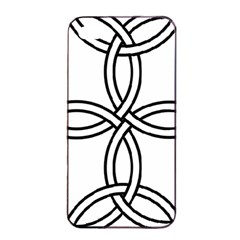 Carolingian Cross Apple Iphone 4/4s Seamless Case (black) by abbeyz71