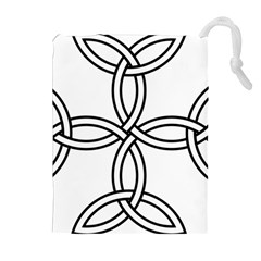 Carolingian Cross Drawstring Pouches (extra Large) by abbeyz71