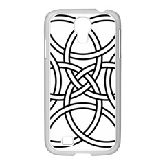 Carolingian Cross Samsung Galaxy S4 I9500/ I9505 Case (white) by abbeyz71