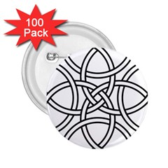 Carolingian Cross 2 25  Buttons (100 Pack)  by abbeyz71