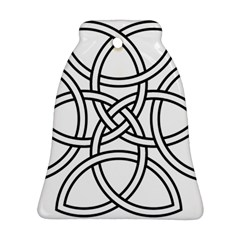 Carolingian Cross Bell Ornament (two Sides) by abbeyz71