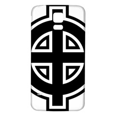 Celtic Cross Samsung Galaxy S5 Back Case (white) by abbeyz71