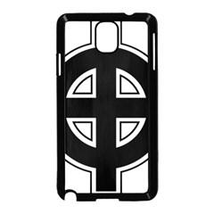 Celtic Cross Samsung Galaxy Note 3 Neo Hardshell Case (black) by abbeyz71