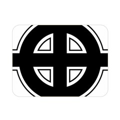 Celtic Cross Double Sided Flano Blanket (mini)  by abbeyz71