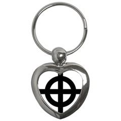Celtic Cross Key Chains (heart)  by abbeyz71
