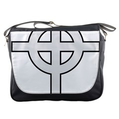 Celtic Cross  Messenger Bags by abbeyz71